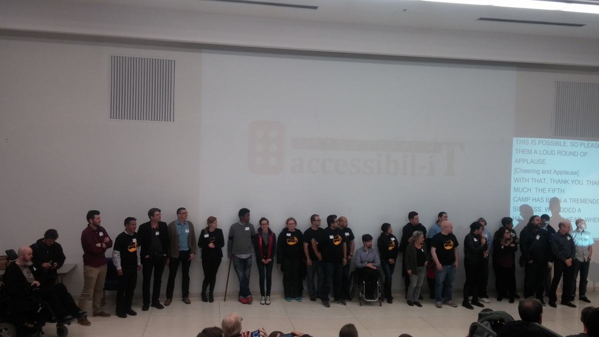 The Staff, Presenters & Volunteers of a11yTO 2015