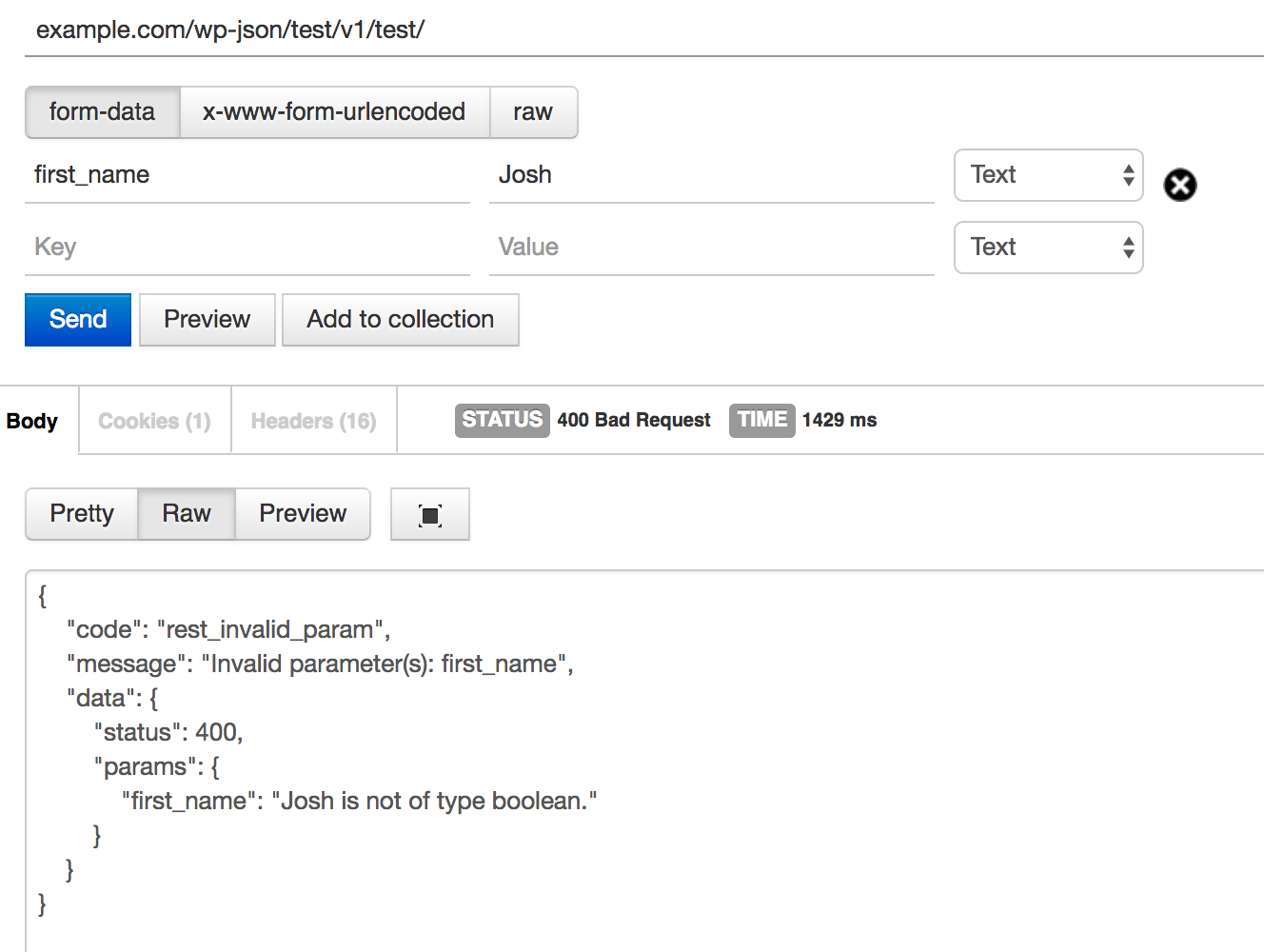 The WordPress REST API's Undocumented Validation Options